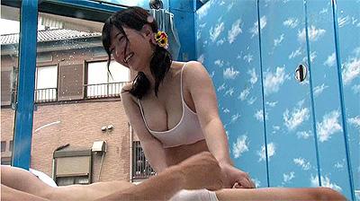 マジックミラー号 海水浴場で見つけた夏休み中の友達同士の男女
